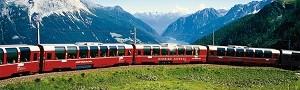 Dormi allo Spöl e sali sul Trenino Rosso del Bernina